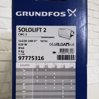 Заводской номер Grundfos Sololift2 CWC-3 (Сололифт)